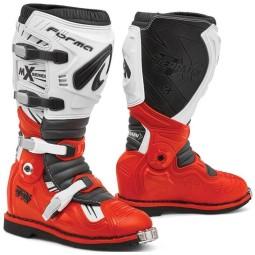 Stivali motocross Forma Terrain TX rosso bianco