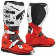 Bottes motocross Forma Terrain TX rouge blanc