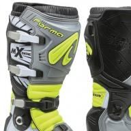 Motocross Stiefel Forma Terrain TX grau schwarz gelb