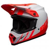Casco moto Bell MX-9 Dash Mips Gris Infrared Negro