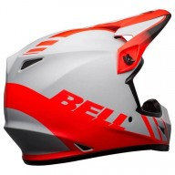 Bell MX-9 Dash Mips Helm matte Grau Infrarot schwarz