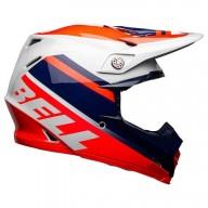 Bell Moto-9 Mips Prophecy infrared navy gray helmet