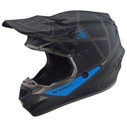Motocross Troy Lee Designs SE4 Polyacrylite Metric Helm