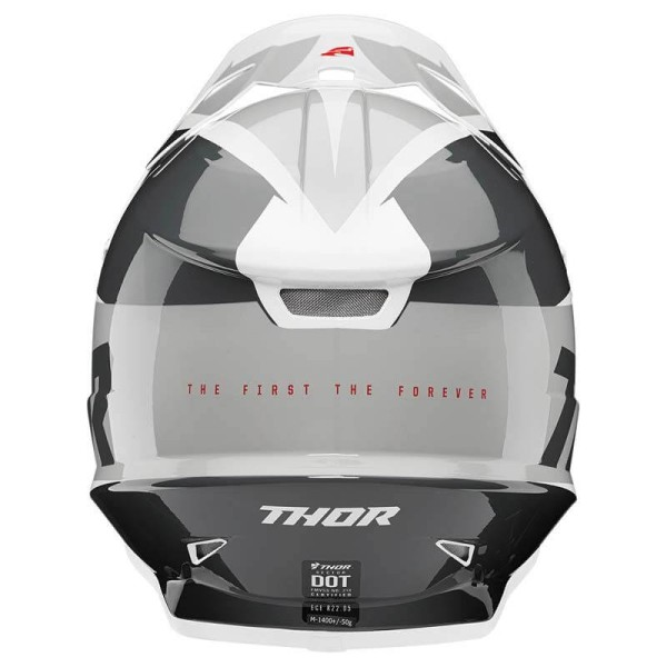 Motocrosshelm Thor Sector Fader black white