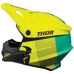Motocross Helmet Thor Sector Racer Acid