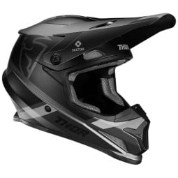 Casque motocross Thor Sector MIPS Split charcoal black