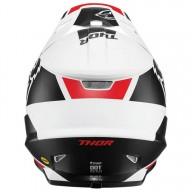 Motocross Helmet Thor Sector MIPS Split white black