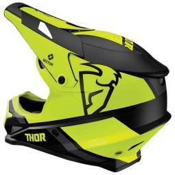 Casco motocross Thor Sector MIPS Split black acid
