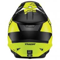 Motocrosshelm Thor Sector MIPS Split black acid