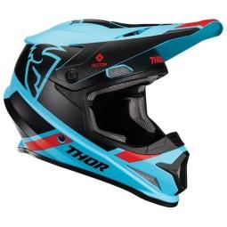 Casque motocross Thor Sector MIPS Split blue black