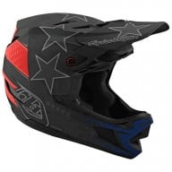 Troy Lee Designs helmet D4 Freedom 2.0 black red