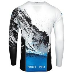Motocross Jersey Thor Prime Pro Mesmer white