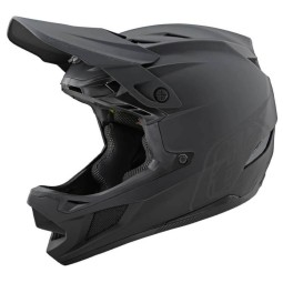 Casco Troy Lee Designs D4 Stealth composite black