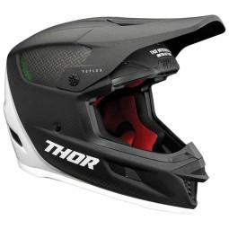 Motocrosshelm Thor Reflex Polar carbon