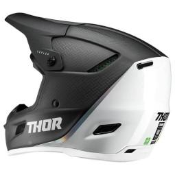Motocross Helmet Thor Reflex Polar carbon