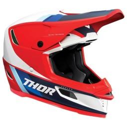 Motocross Helmet Thor Reflex Apex red white blue