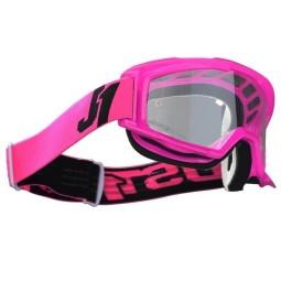 Occhiali motocross Just1 Vitro fluo fuxia