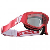 Occhiali motocross Just1 Vitro red white