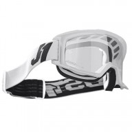 Occhiali motocross Just1 Vitro white