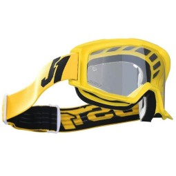 Occhiali motocross Just1 Vitro black yellow