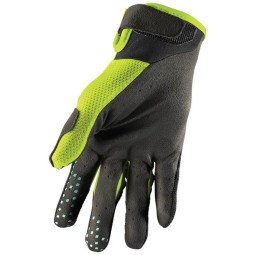 Gants motocross Thor Draft noir acid