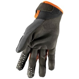 Gants motocross Thor Draft charcoal orange