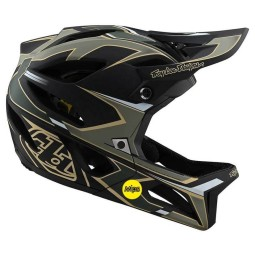 Casco MTB Troy Lee Designs Stage Stealth Ropo green