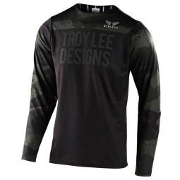 Maglia MTB Troy Lee Designs Skyline Pinstripe camo