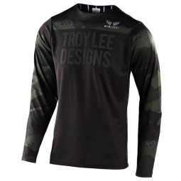 Troy Lee Designs MTB-Trikot Skyline Pinstripe camo