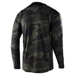 Troy Lee Designs MTB jersey Skyline Pinstripe camo
