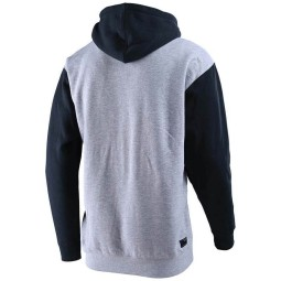 Hoodie Troy Lee Designs Precision 2.0 gray heather