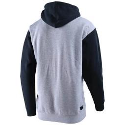 Sweatshirt Troy Lee Designs Precision 2.0 gray heather