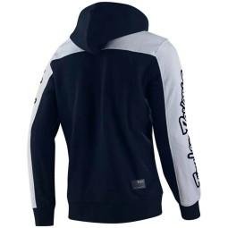 Sweatshirt Troy Lee Designs Block Signature navy white