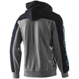 Sweatshirt Troy Lee Designs Block Signature heather navy
