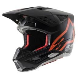 Alpinestars Helm SM5 Comps schwarz orange