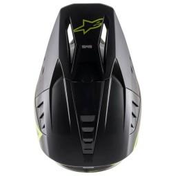 Motocross Helmet Alpinestars SM5 Comps black yellow