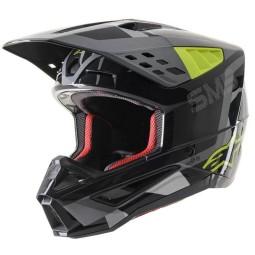 Alpinestars Helm SM5 Rover \n schwarz gelp