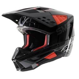 Motocross Helmet Alpinestars SM5 Rover black yellow