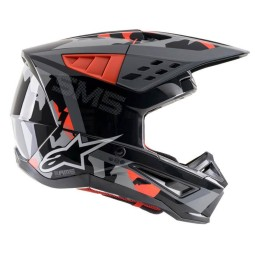 Casque Alpinestars SM5 Rover noir orange