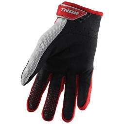 Guanti motocross Thor Spectrum red gray