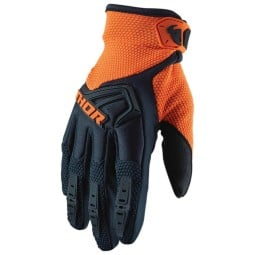 Gants motocross Thor Spectrum blue orange