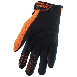 Motocross gloves Thor Spectrum blue orange