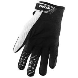 Motocross gloves Thor Spectrum black white