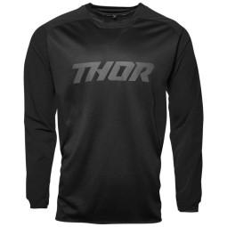 Enduro-Trikot Thor Terrain Schwarz