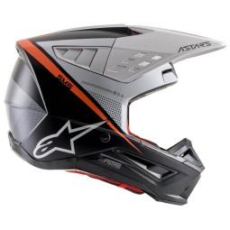 Alpinestars Helm SM5 Rayon grey black silver