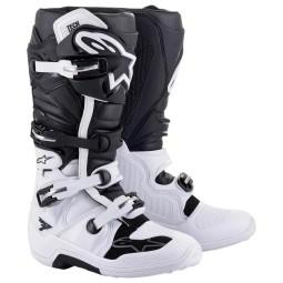 Botas Alpinestars Tech 7 negro blanco