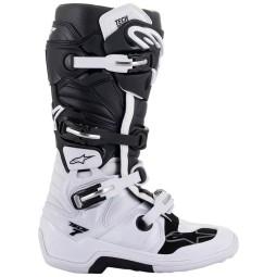 Alpinestars Tech 7 stivali motocross nero bianco