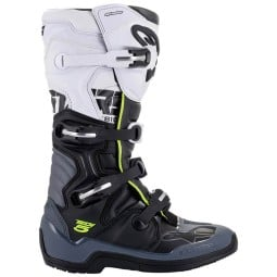 Motocrossstiefel Alpinestars Tech 5 black grey white