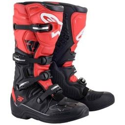 Stivali Alpinestars Tech 5 black red