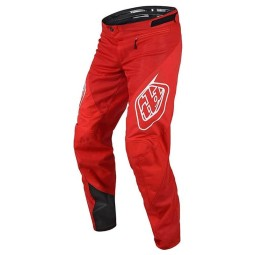 Pantalones MTB Troy Lee Designs Sprint Ultra rojo